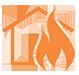 shield fire icon