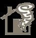 shield wind icon
