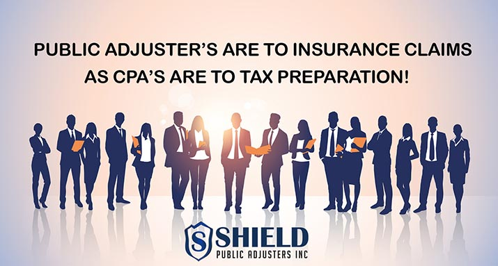 public adjuster to insurance claim